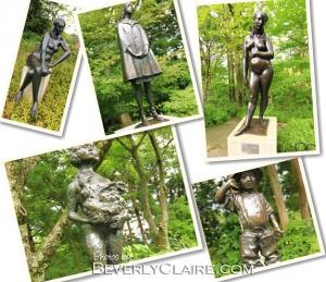 Sculptures at Hakone and Citizen Kane
